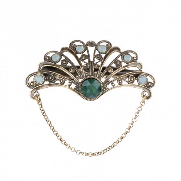 Collerette hair pin
