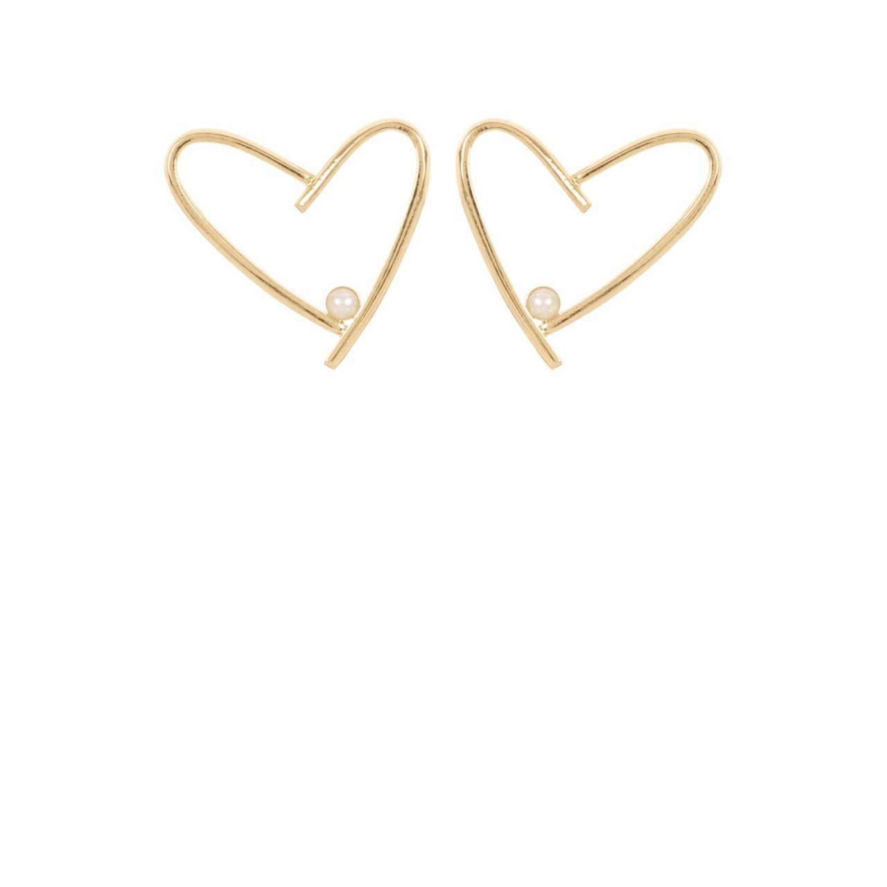 Earrings Amore Short Gold