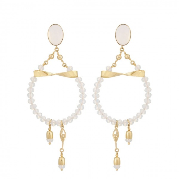 Ballerine Earrings Gold