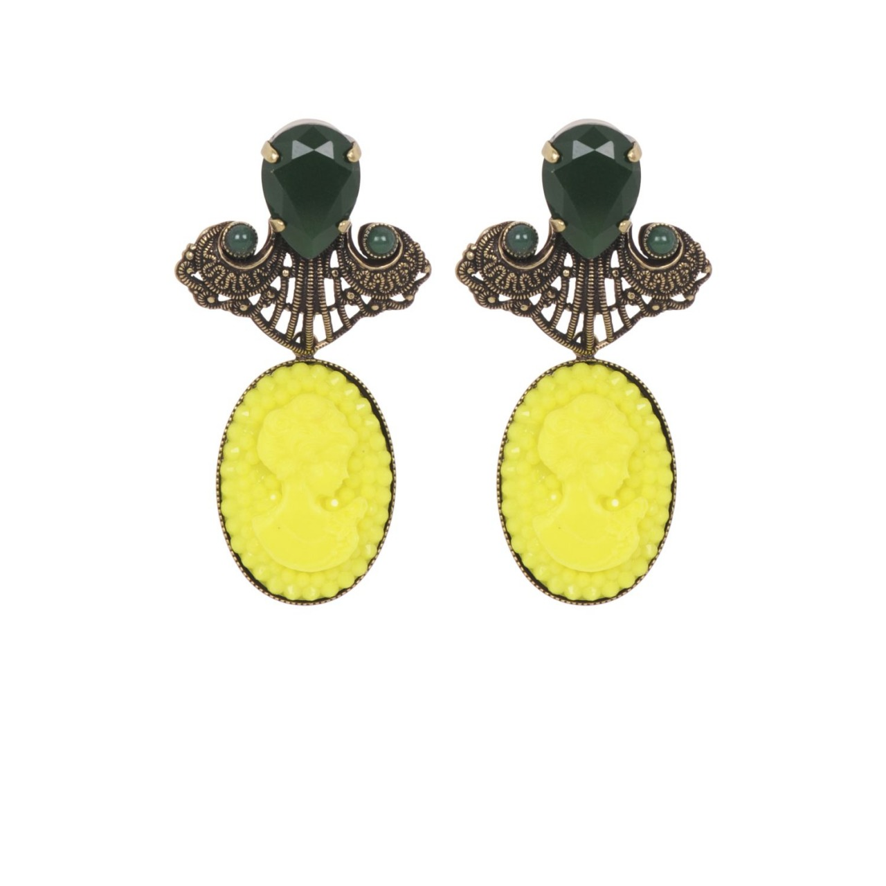 Beetel Camée Earrings