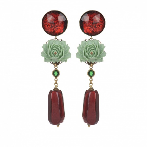 Earrings Bonbon strass