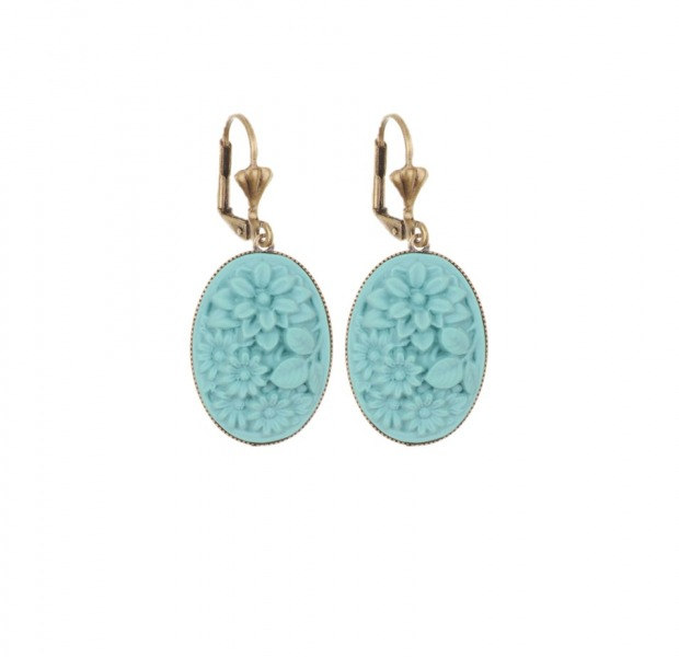 Bouquet dormeuses earrings