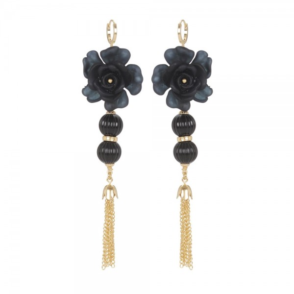 Bubbles and Flowers earrings