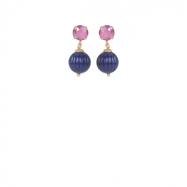 Candy strass earrings