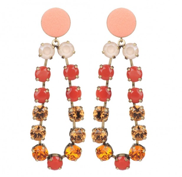 Castafiore earrings