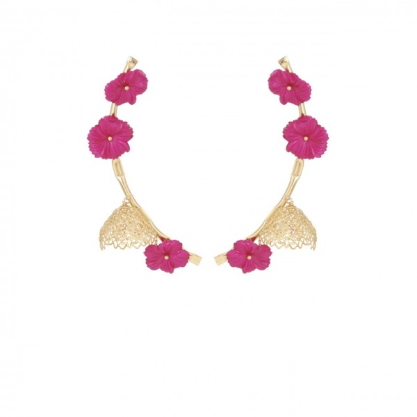 Clochette Earrings Gold