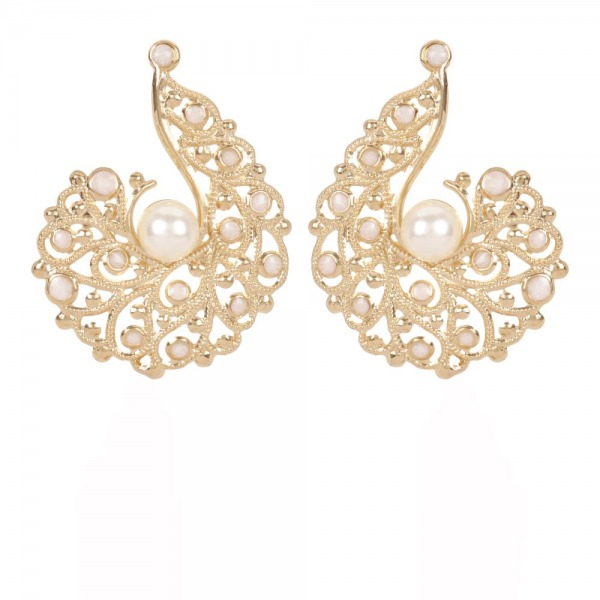 Earrings Coquillage Gold