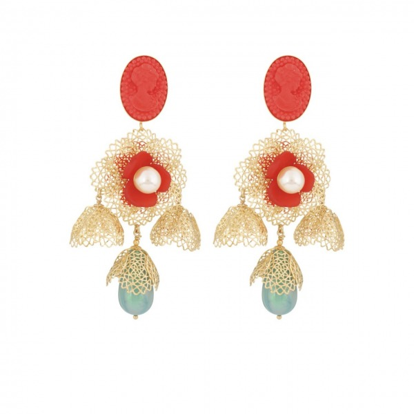 Flamenco Earrings Long