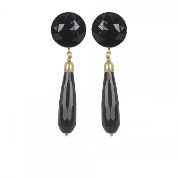 Earrings Lunaire Goutte