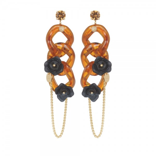 Maillon Long Earrings
