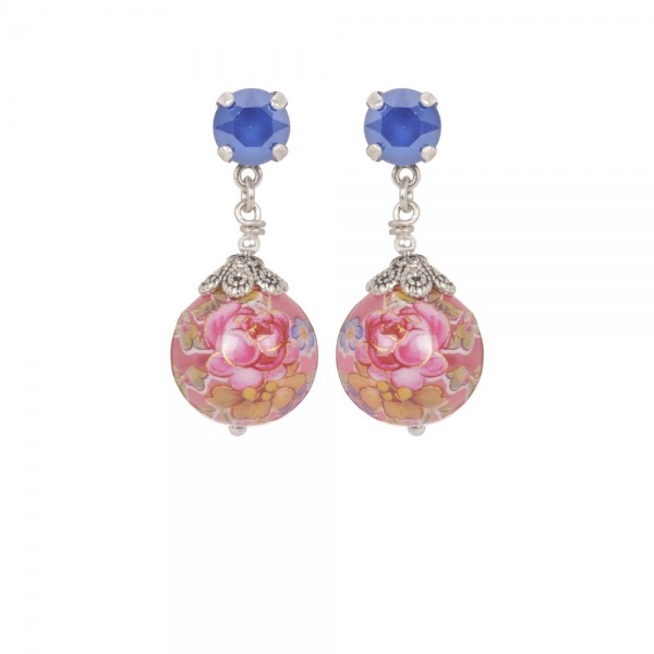 Earrings Perles Japonaises Silver