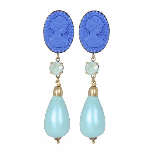 Earrings Perry Baroque