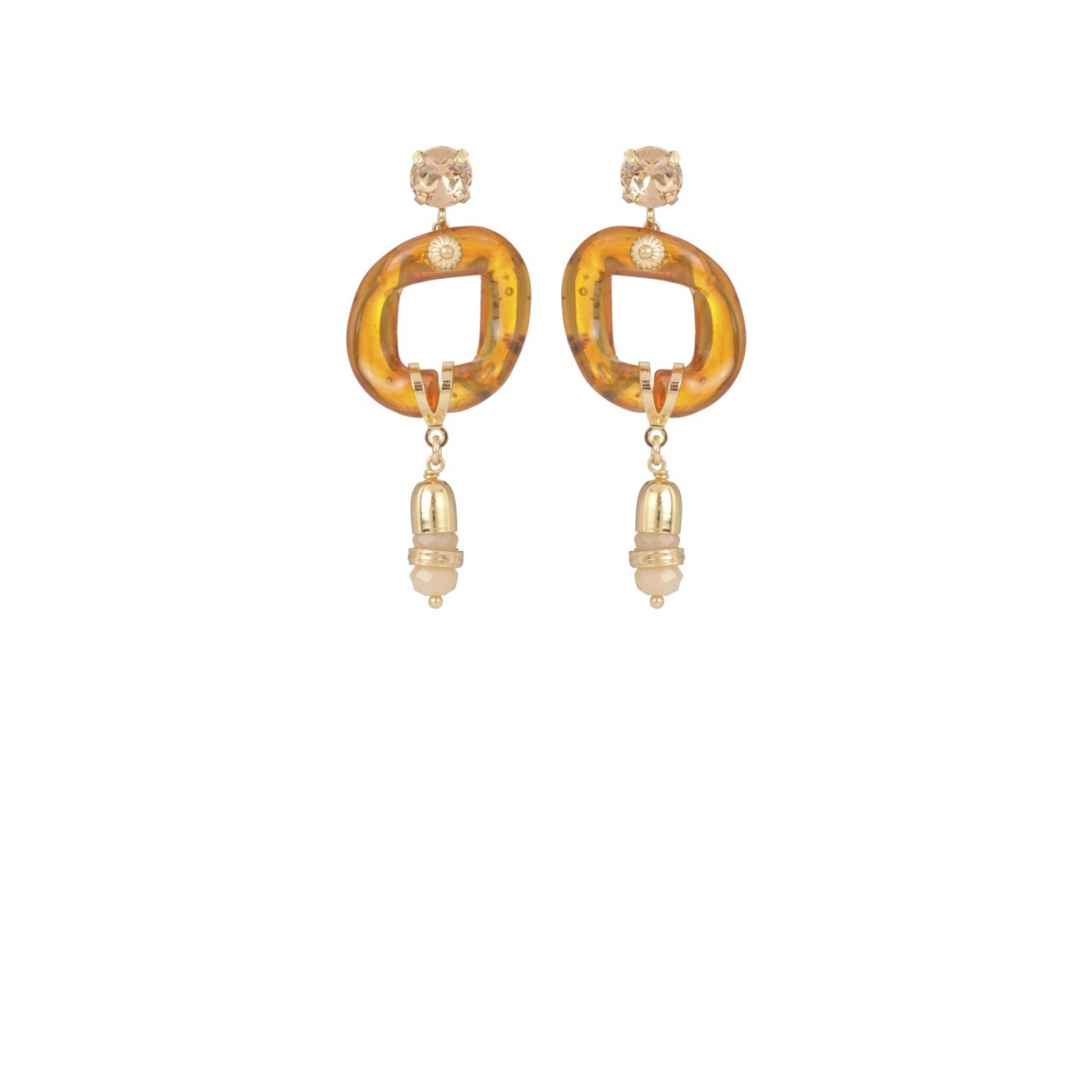 Sierra strass earrings