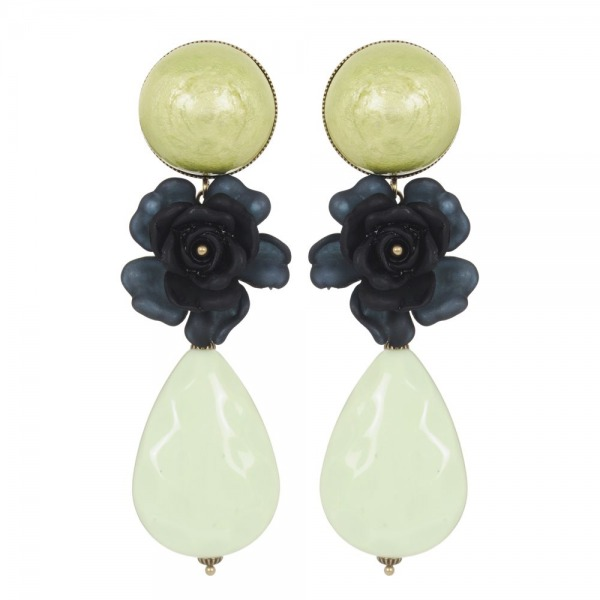 Earrings Silex cabochon