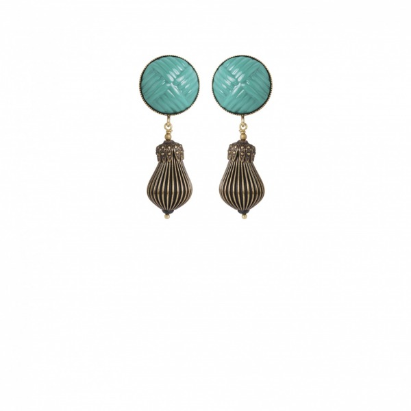 sultane short earrings