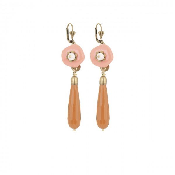 Toupie Earrings
