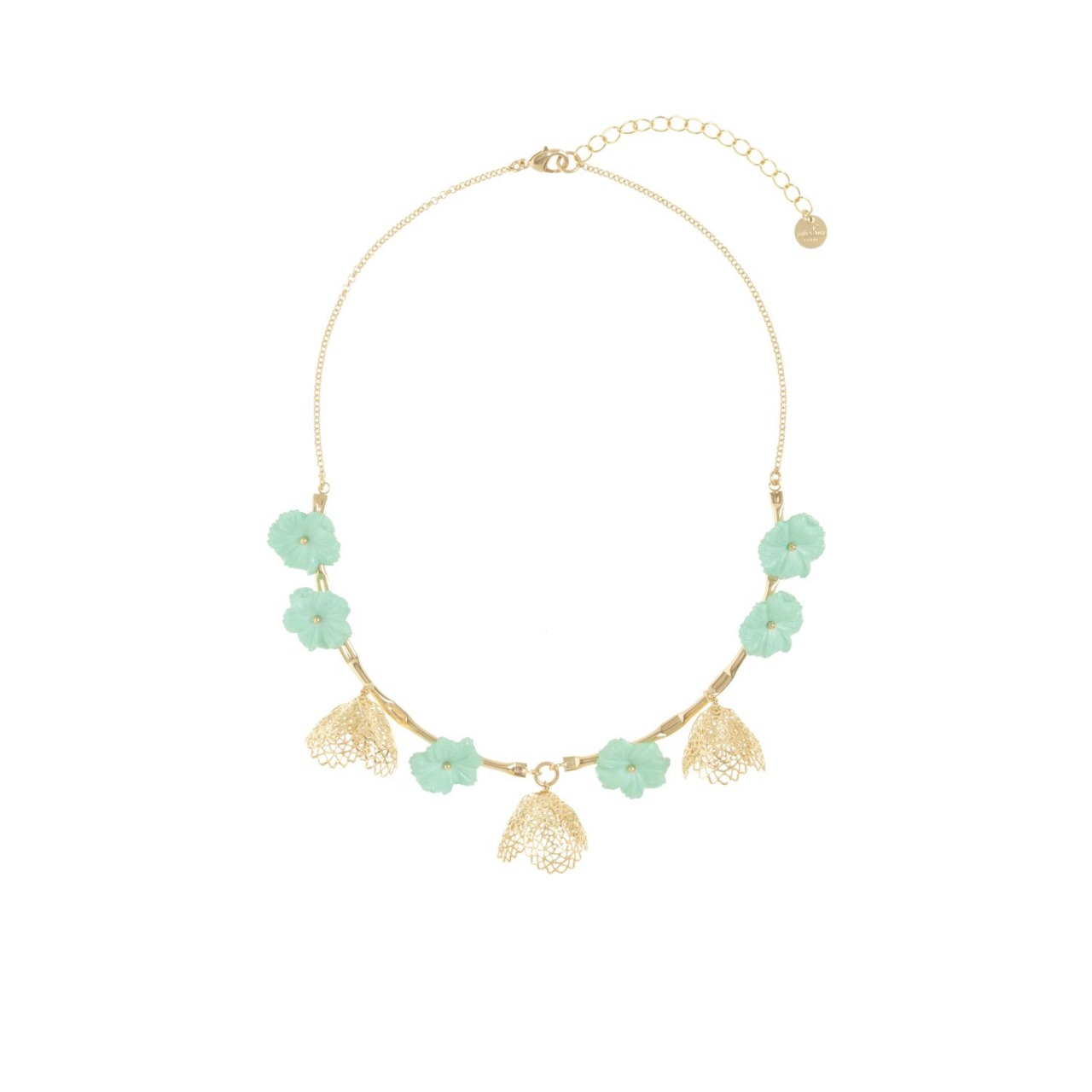 Clochette Necklace Gold