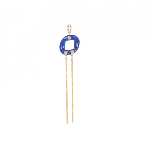 Maillon single earrings
